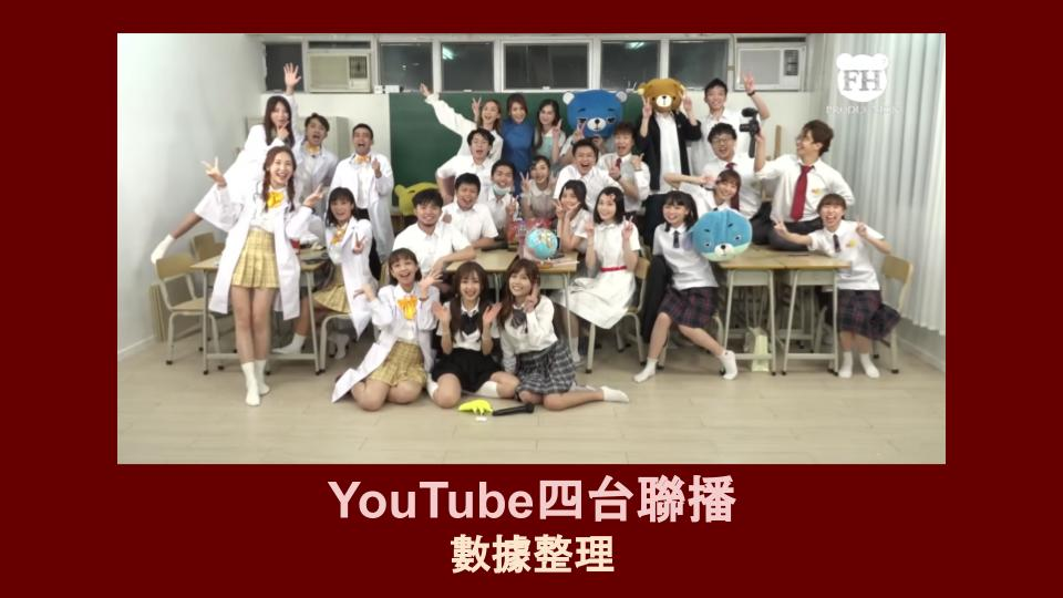 YouTube四台聯播 試當真 x 小薯茄 x FH Production x 啱Channel